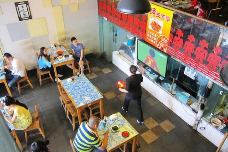 Huang He Shui: Shaanxi Restaurant at Worker's Stadium