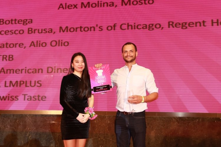 Alex Molina, General Manager of Mosto Group, Enters Dining Hall of Fame