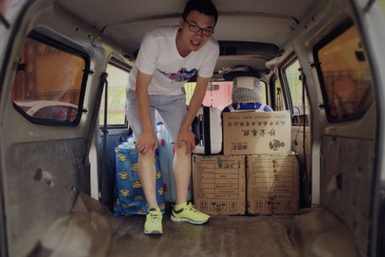 """Trying Out Lanxiniu, the """"Uber of Moving Vans"""""""