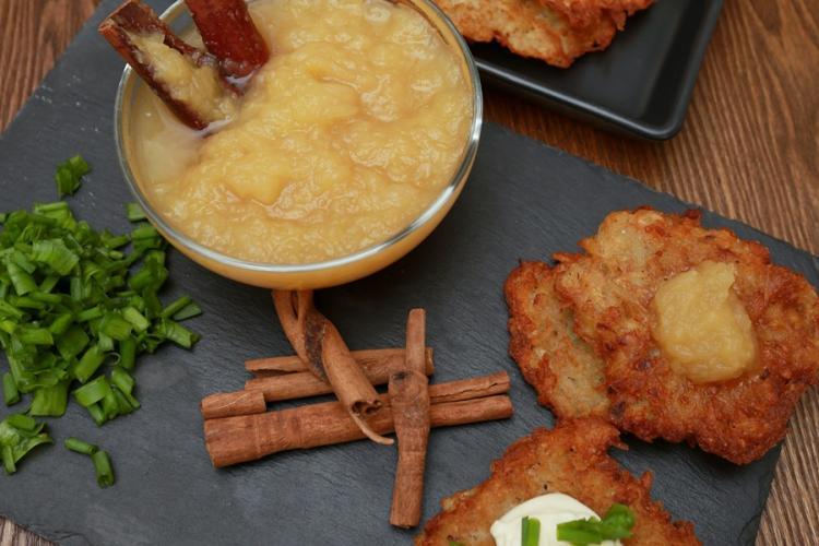 Season's Feastings: Make Your Own Potato Latkes and Apple Sauce