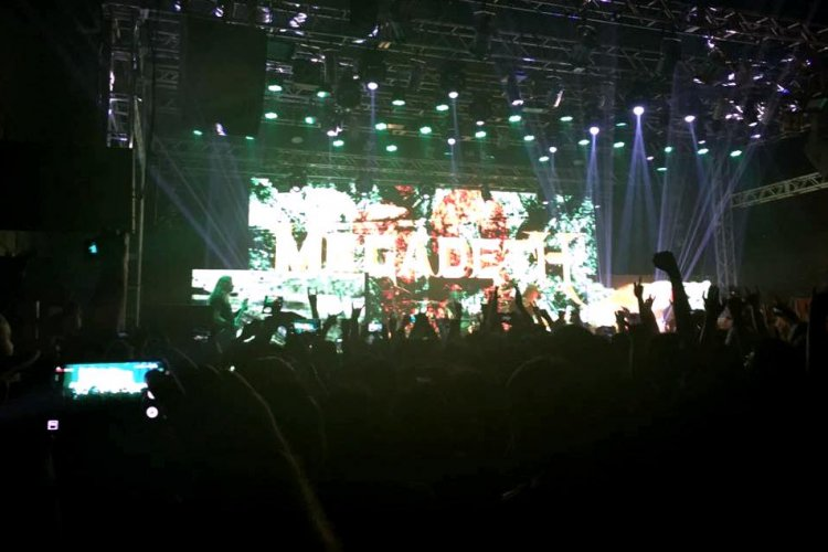 Metal Band Megadeth Returns to Beijing, Finally Allowed to Play a Full Concert