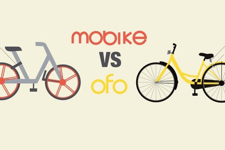 Infographic: The Differences Between Mobike and Ofo