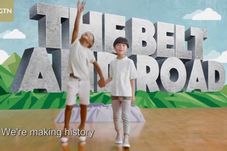 "Not Familiar With The ""Belt and Road""? Here it is Explained Using Propaganda Targeted at Children"