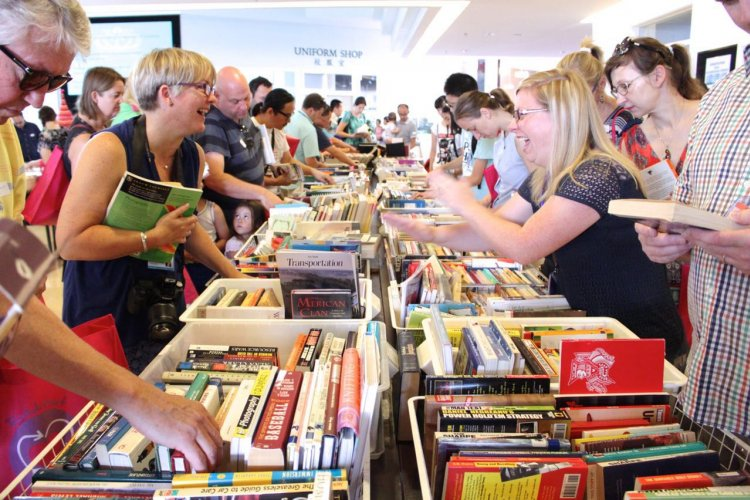 Roundabout Book Fair at BSB, Aug 27-Sep 3