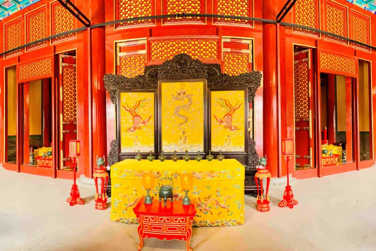 Jingshan Park's Imperial Temple Reopens to the Public Following a Four-Year Renovation