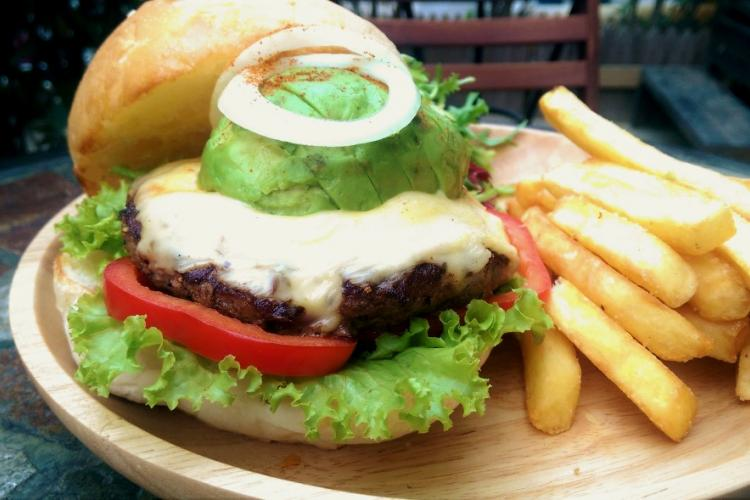 Burger Brief, The Local Bar and Grill's Dry Rub Avocado Burger