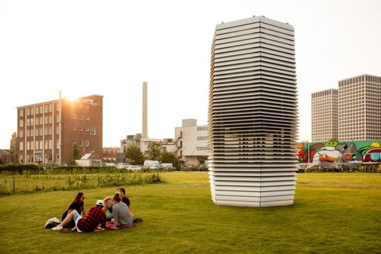 Bei-cology: Smog Free Tower to be Unveiled in Beijing's 798 Art District, Sep 29