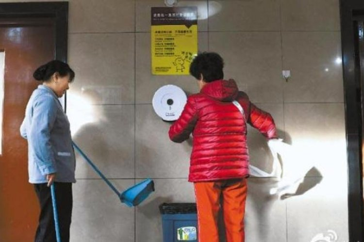 Beijing Park Proudly Confirms it Will Continue to Provide Free Toilet Paper for Patrons to Steal