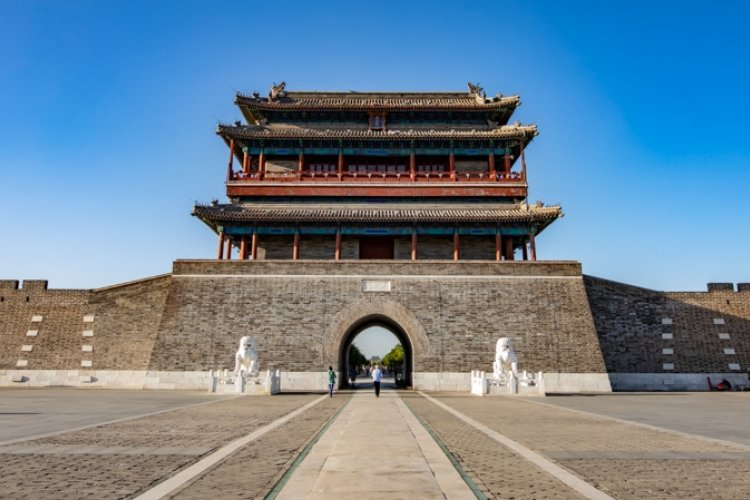 Beijing Pics: North to South, Day to Night Around Ancient Yongdingmen