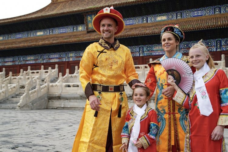 DP The Royal Treatment: Family Fizz Share Their Experiences as Beijing's Imperial Ambassadors