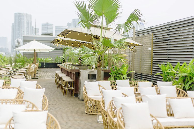 DP EAT: Three Excellent New Terraces to Wine and Dine Away the Rest of the Summer
