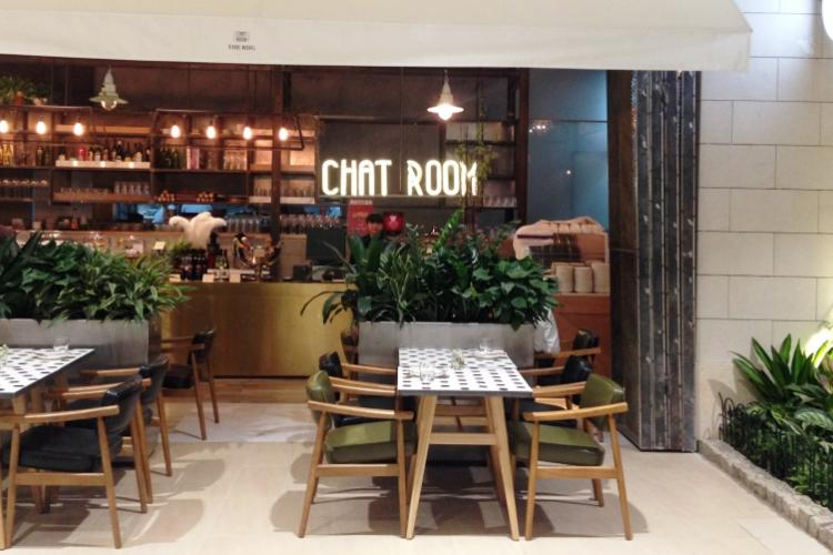 First Glance: The Rug Chat Room, Chaoyang Joy City