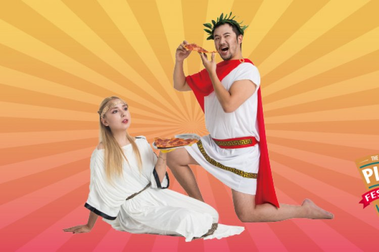 DP - Pizza Fest 2019: Wrap Up in a Toga and Grab a Slice