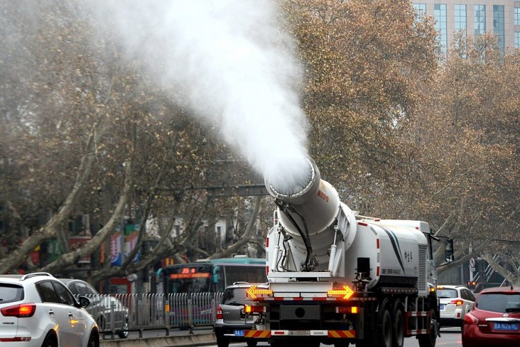 R1: Bei-cology: Can Beijing's New Water Cannons Super Soak the Skies Blue?