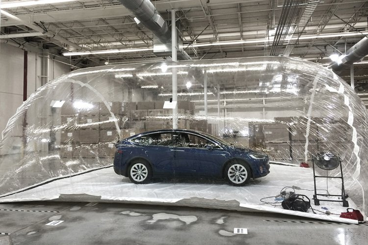 Drive Your Own Pollution Dome: Tesla claims its latest completely protects against PM2.5s