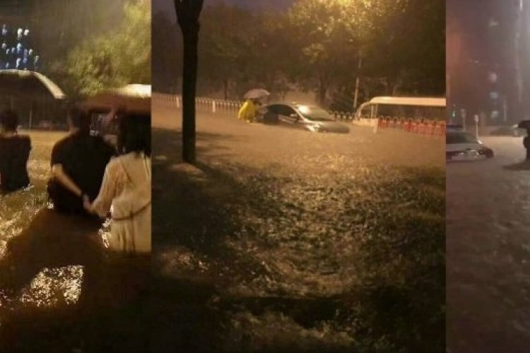 Red Alert Raised as Torrential Rains Flood Southwest Beijing