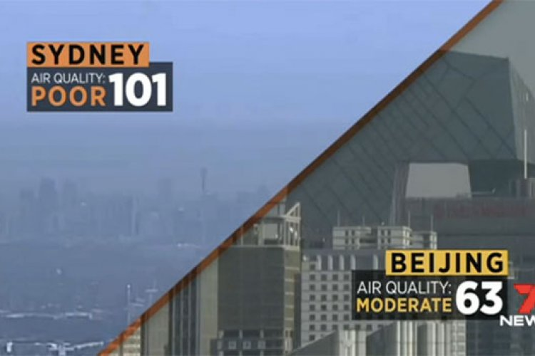 R1: Bei-cology: Sydney's AQI Reaches Beijing's Levels