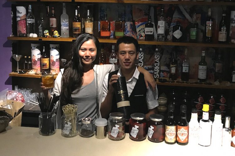 R Longtime Thai Favorite Purple Haze is Now Purple Isle, Complete With Fantastic Cocktails at Its Purple Bar