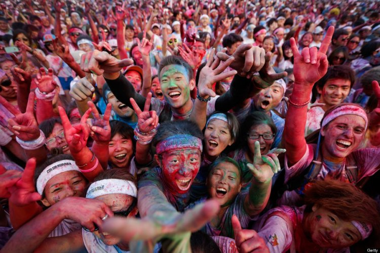 A Spectrum of Sprinters: Registration Now Open for Beijing Color Run, June 17