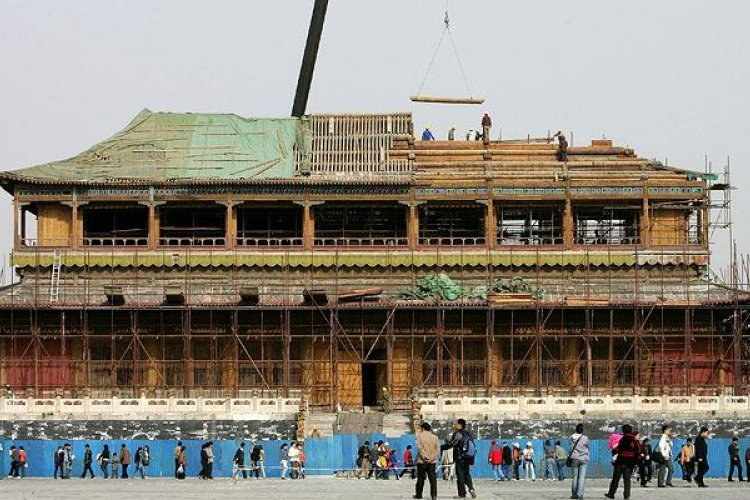 Throwback Thursday: Plans Set for Forbidden City Expansion and Renovation