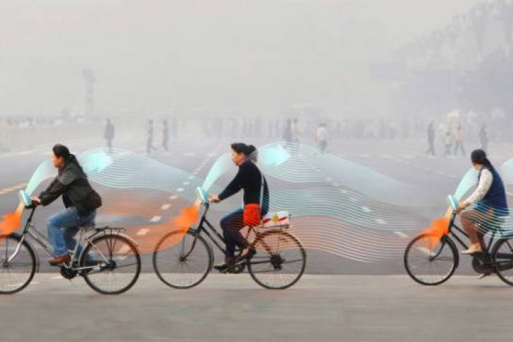 DP Beicology: Can Beijingers Pedal the Pollution Away With Futuristic Smog Cleaning Bikes?