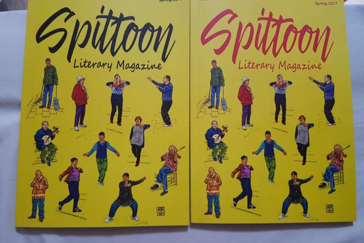 R Party Time for Poets at Launch of Second Spittoon Magazine