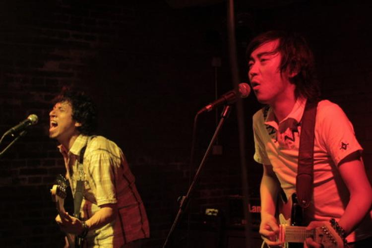 The Funky Side Effects: Wu Kejia and his mates make blues wild