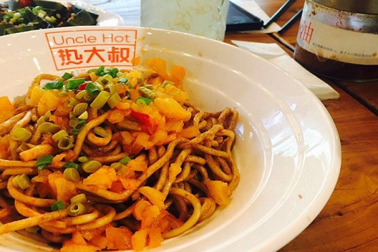 Street Eats: Delicious Lotus Root with Baby, and Mediocre Hot Dry Noodles at Uncle Hot
