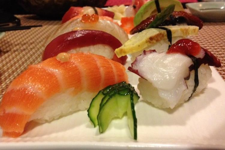 Neighborhood Sushi: Eastern Fusion in China View