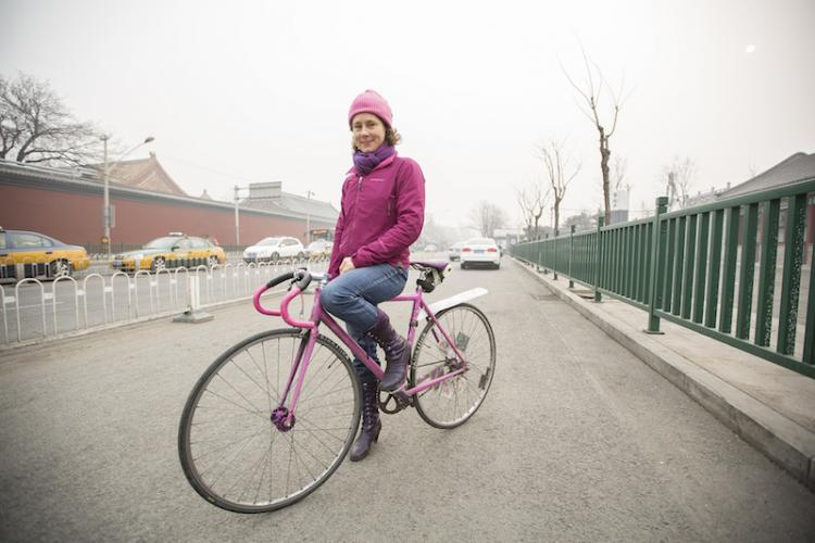Breathless in Beijing: Natooke CEO Ines Brunn on how (and why) she cycles through the smog