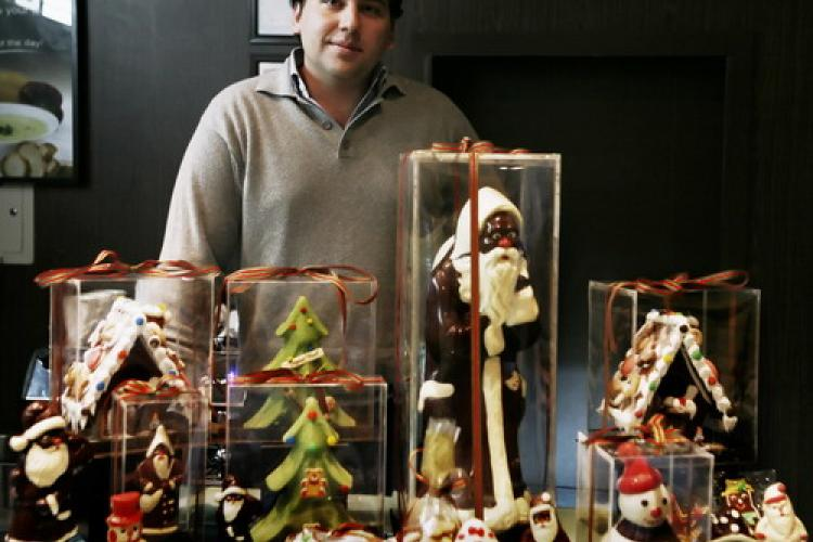 There's a Lot of Chocolate Santas in Here... Benjamin Devos of Comptoirs de France