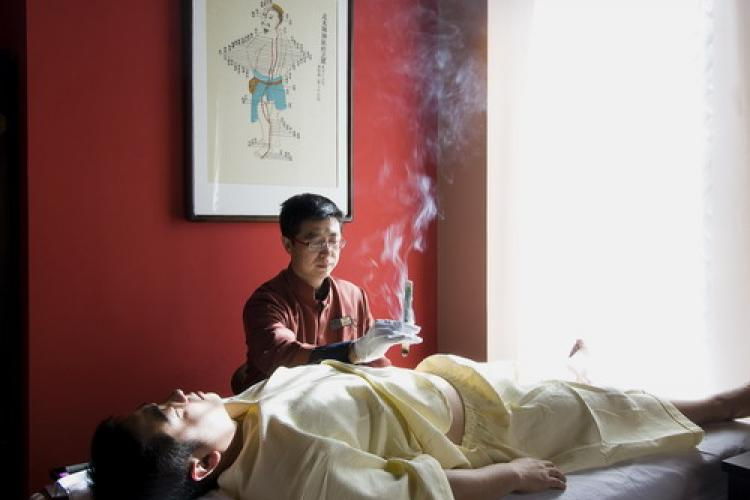In the Mood for Moxibustion: The Meridian