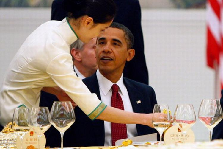 Quick Links: What Obama Said and Drank in China