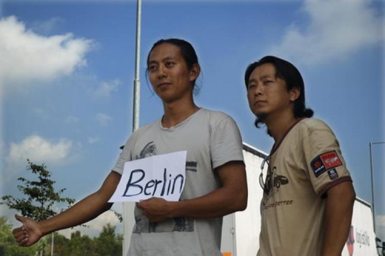 Beijing to Berlin Hitchhiker Speaks