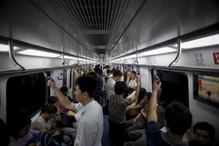 Peking Man: George's Guide To Getting a Seat on the Subway