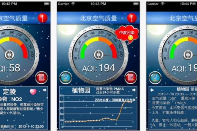 Official Pollution Numbers For Your Phone