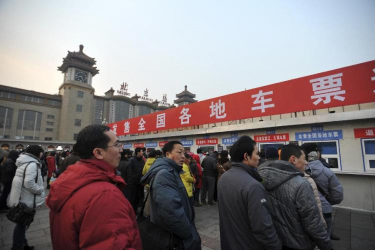 Spring Festival Travel: Planes, Trains or Automobiles?