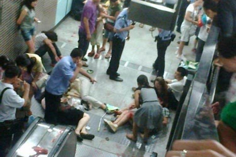 Escalator Malfunction Leaves 1 Dead, 28 Injured