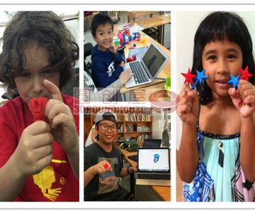 Kids so enjoyed their learning results -- customised 3D printed toys
