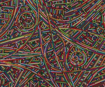 """Lu Xinjian """"Infinite Lines"""" Exhibition"""