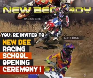 New Bee Racing School Opening Ceremony