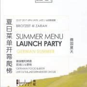German Summer Menu Launch Party