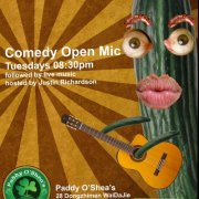 Subnormalz Stand Up Comedy Open Mic Tuesday Paddy O'Shea's