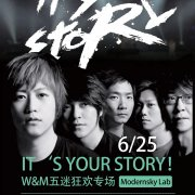 It's Your Story Tour: W&M Music Bands