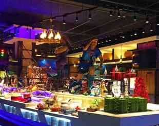 R Shiver Your Timbers and Tickle Your Tastebuds at this Zany Wangjing Pirate Themed Buffet