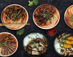 Artistic Atmosphere, But Average Hunan Noodles at Longxiaobao
