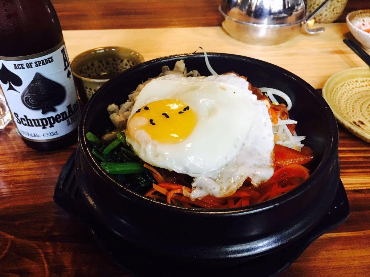 Order Sad Bibimbap and Eat From a Shovel at New (North) Korean