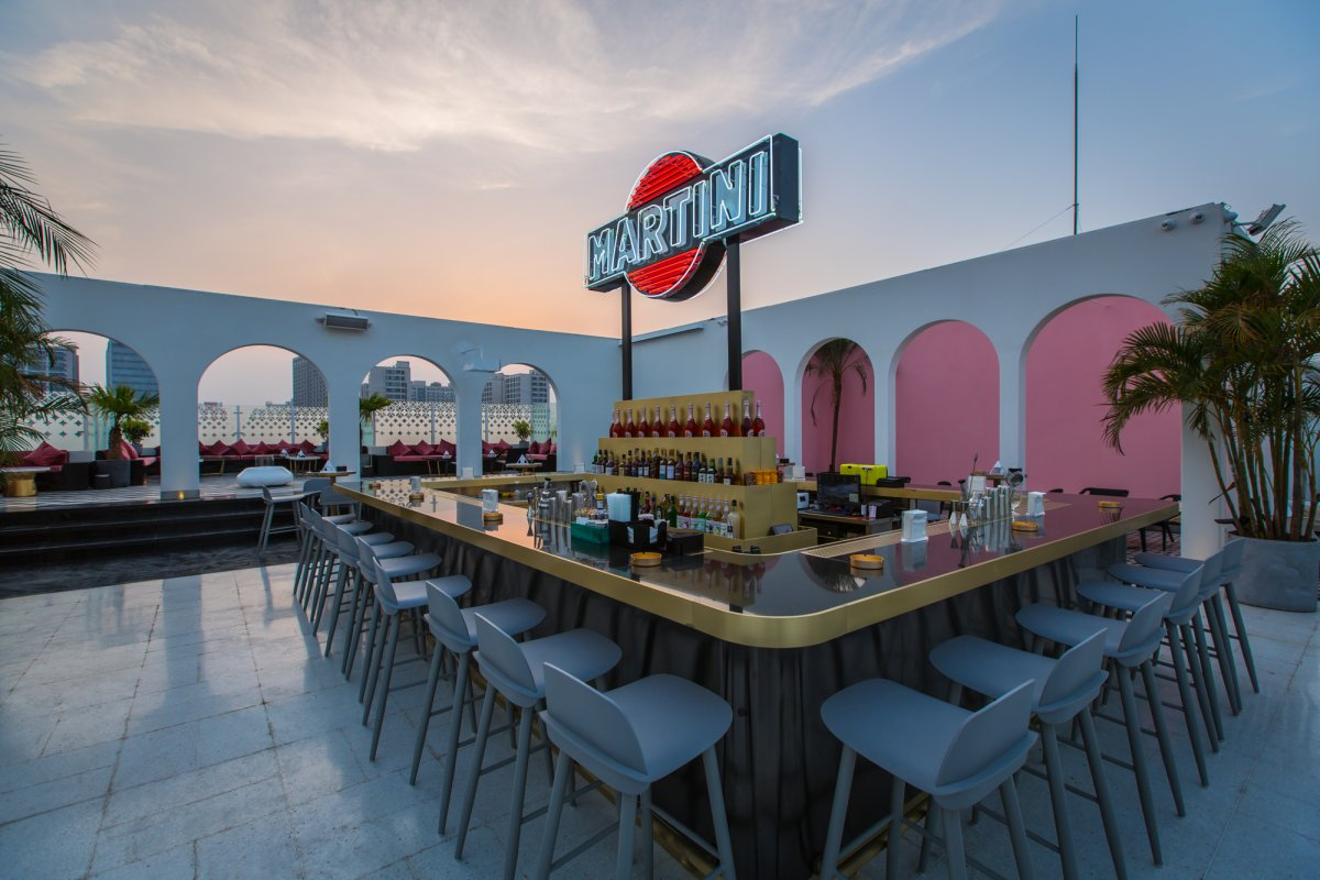 First Look: Swish Terrazza Martini Lounge Opens in Migas\' Former ...