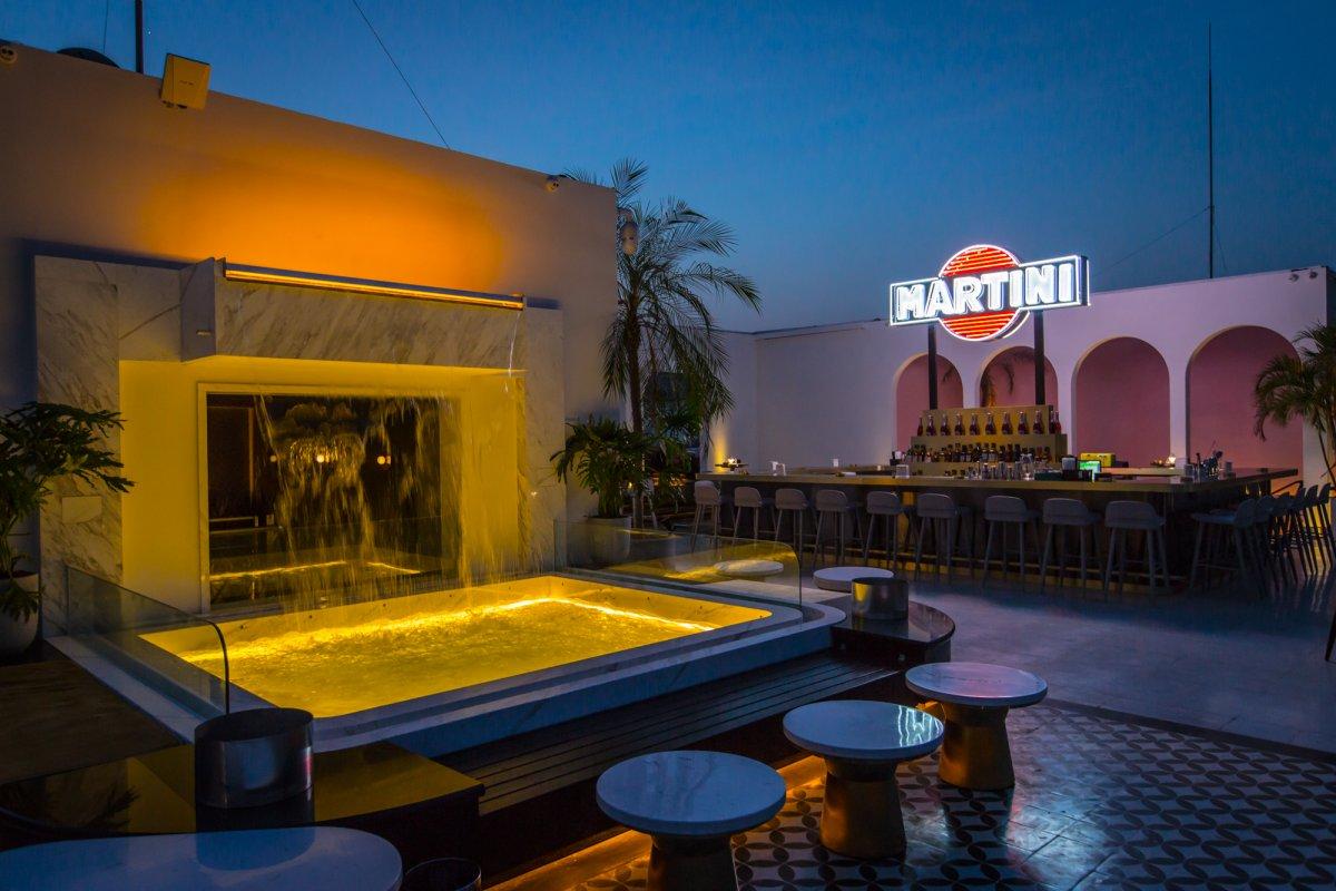 First Look Swish Terrazza Martini Lounge Opens In Migas