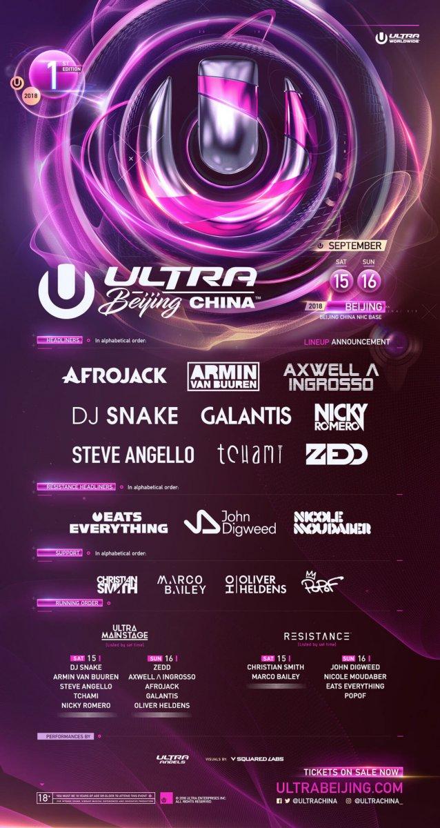 Ultra Fest 2018 Endures: EDM Elite Afrojack, Armin van Buuren